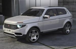 Новая Lada 4x4